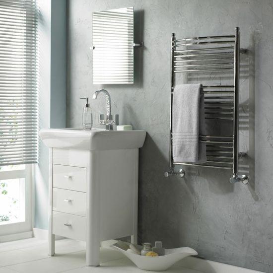 Großartig stilvolle Handtuchhalter-Heizkörper Badezimmer Gestaltung  XW86