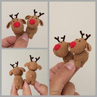 Three Little Reindeer pattern by Uljana Semikrasa
