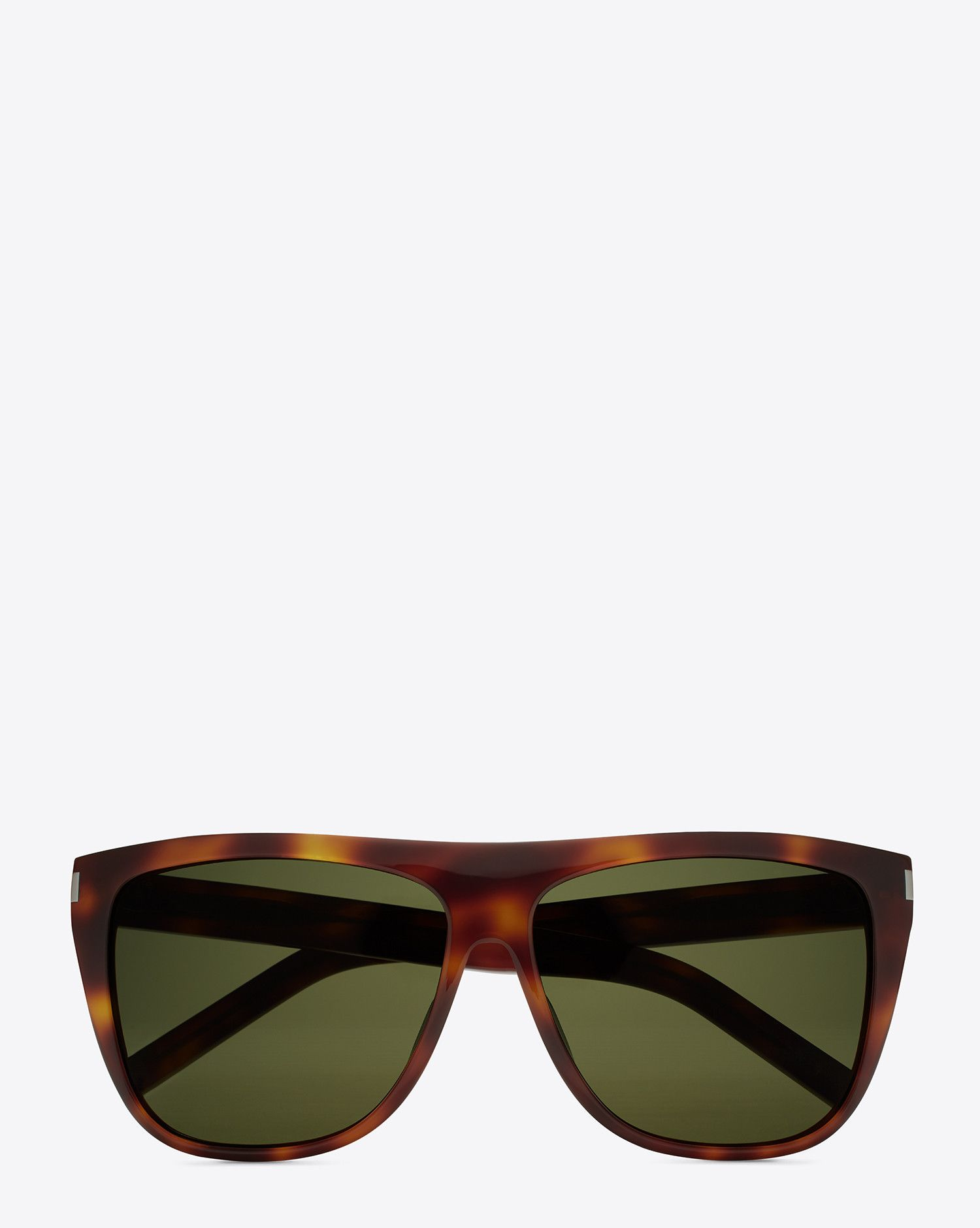 Unisex Sunglasses in Havana Acetate Saint Laurent Manchester Online Cheap Newest Lg9891WKk