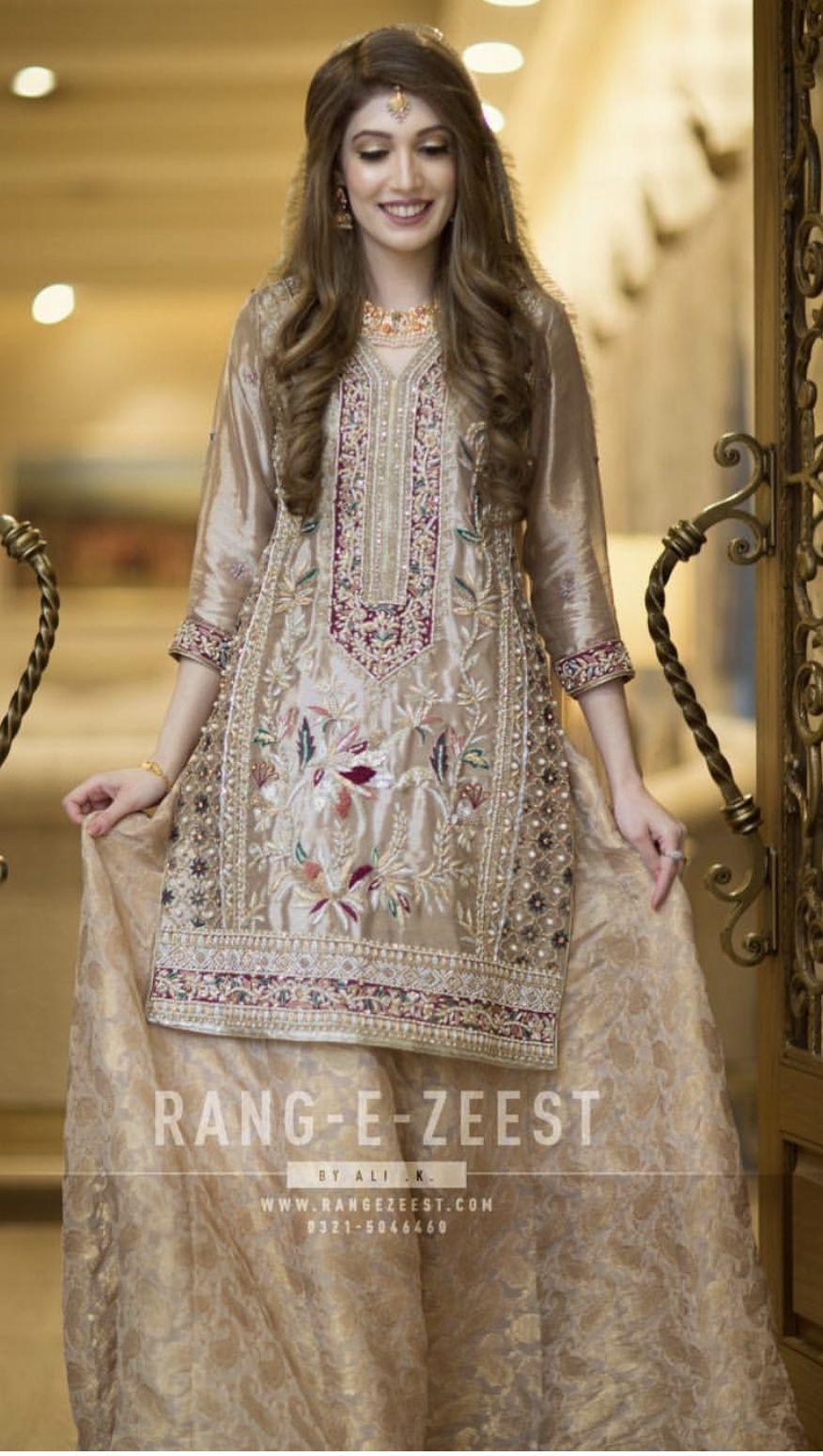 Nikkah Bride Pakistani Bridal Dresses Party Wear Dresses Shadi