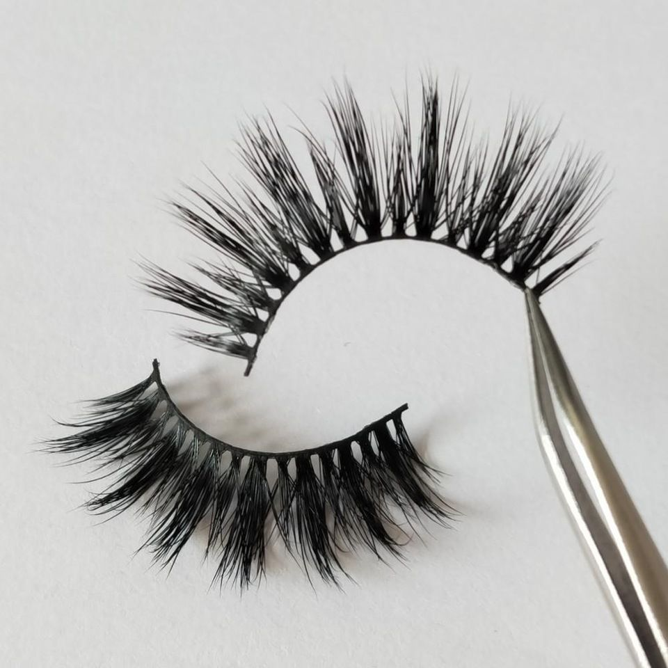 0e3c9e85f5e Factory wholesale price customized packaging 3D mink lashes own brand strip false  eyelashes