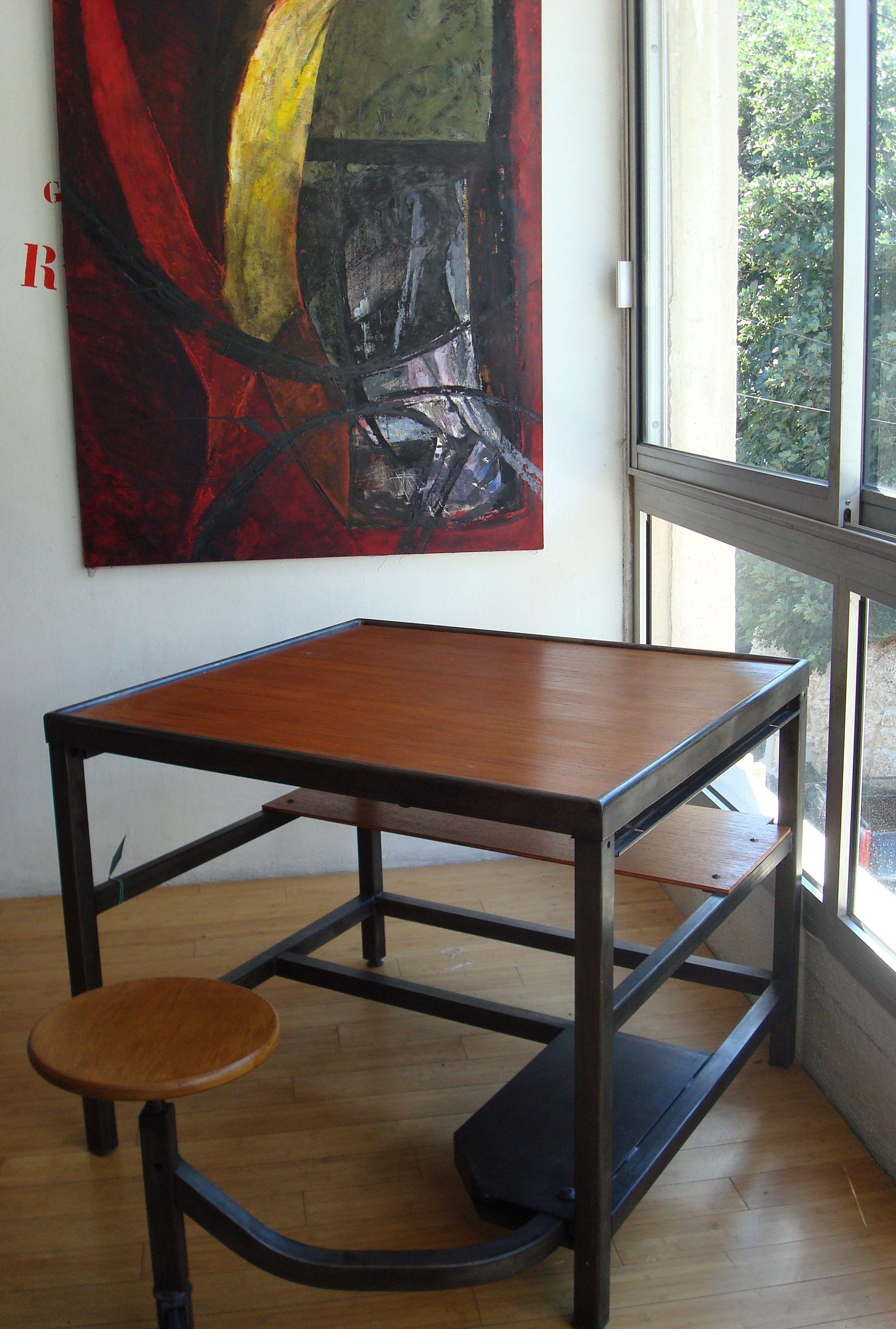 Bureau de postier - Becbunzen mobilier vintage & industriel
