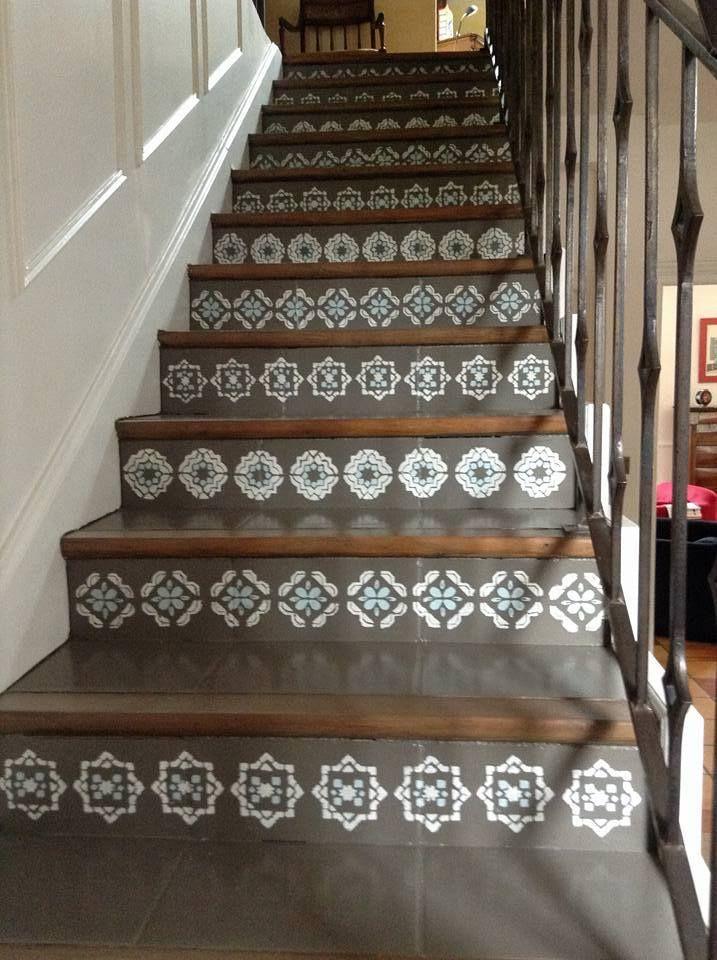 Escalier après relooking   Déco salon   Pinterest   Relooking ...
