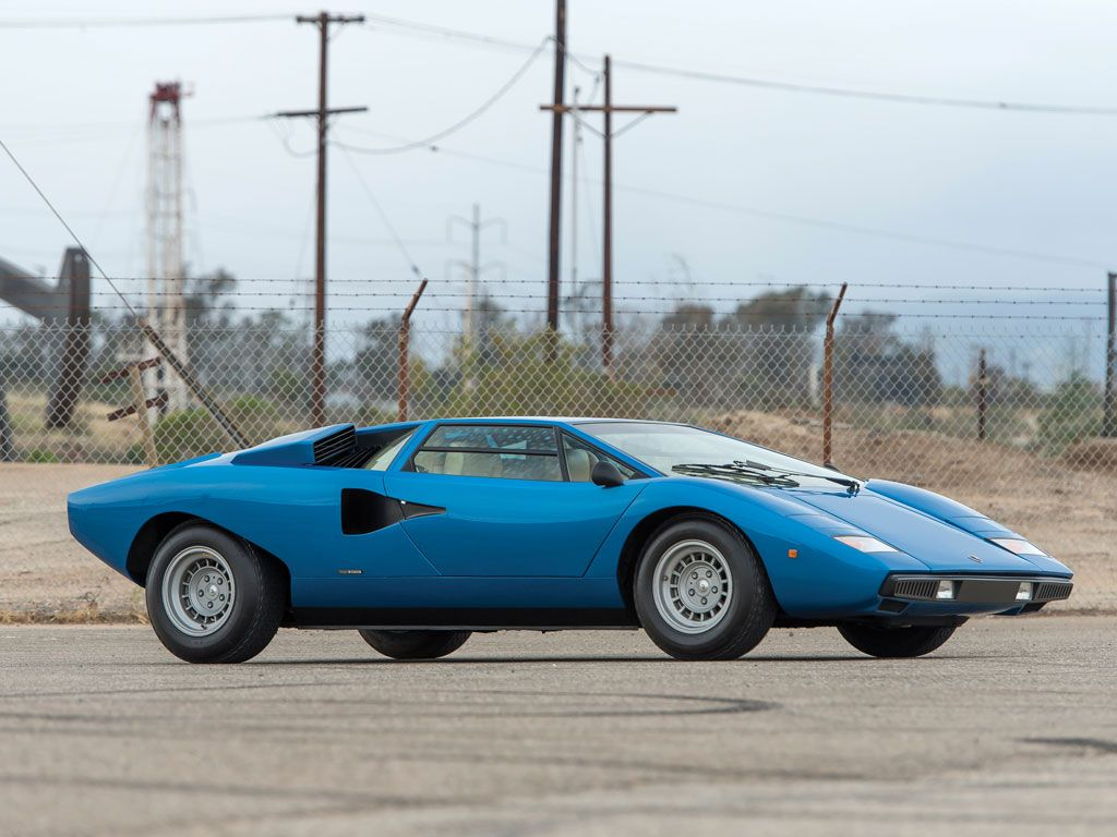 1976 Lamborghini Countach Lp 400 Periscopio At Monterey