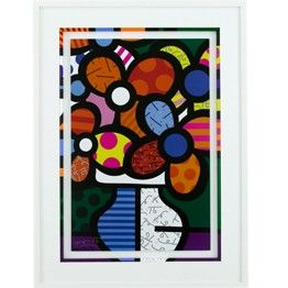romero britto paint project. Could be used in drawing too