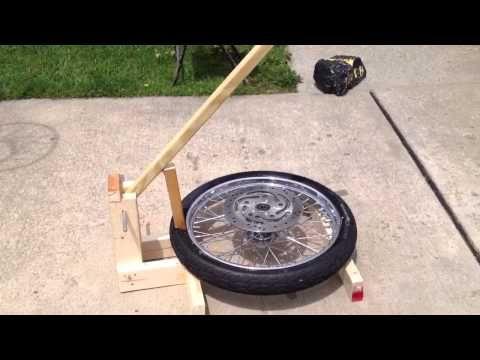 Motorcycle Bead Breaker Youtube Homemade Tools Homemade Motorcycle Car Parts Decor