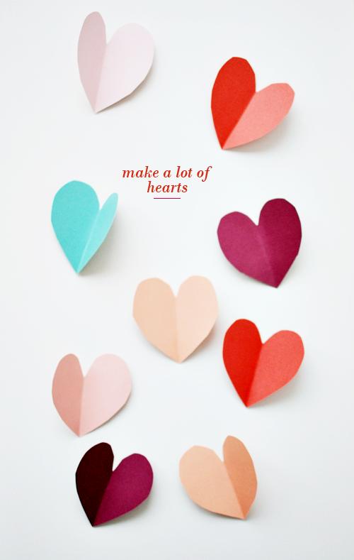 diy {valentine's wall decor idea}