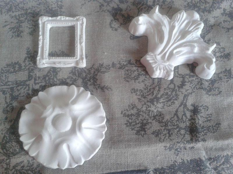 sujets platre - miniatures et petits objets - Pamprenelle et