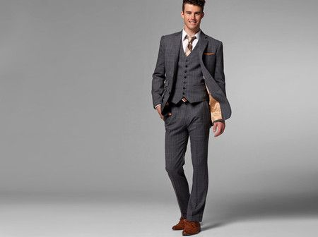 91aba9b0 The Giallo Three-Piece Plaid Suit | Indochino ($200-500) | Suits ...