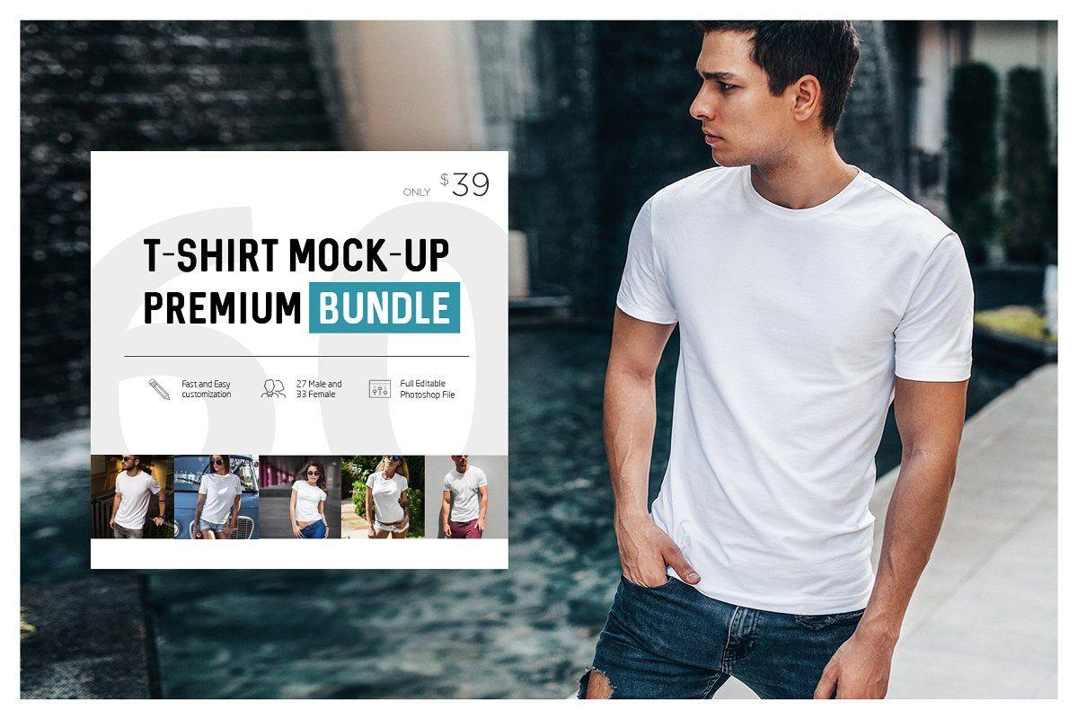 Download T Shirt Mock Up Premium Bundle Tshirt Mockup Shirt Mockup Mocking