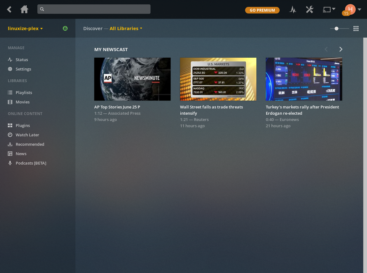 CopyConclusionYou have learned how to install Plex Media Server on