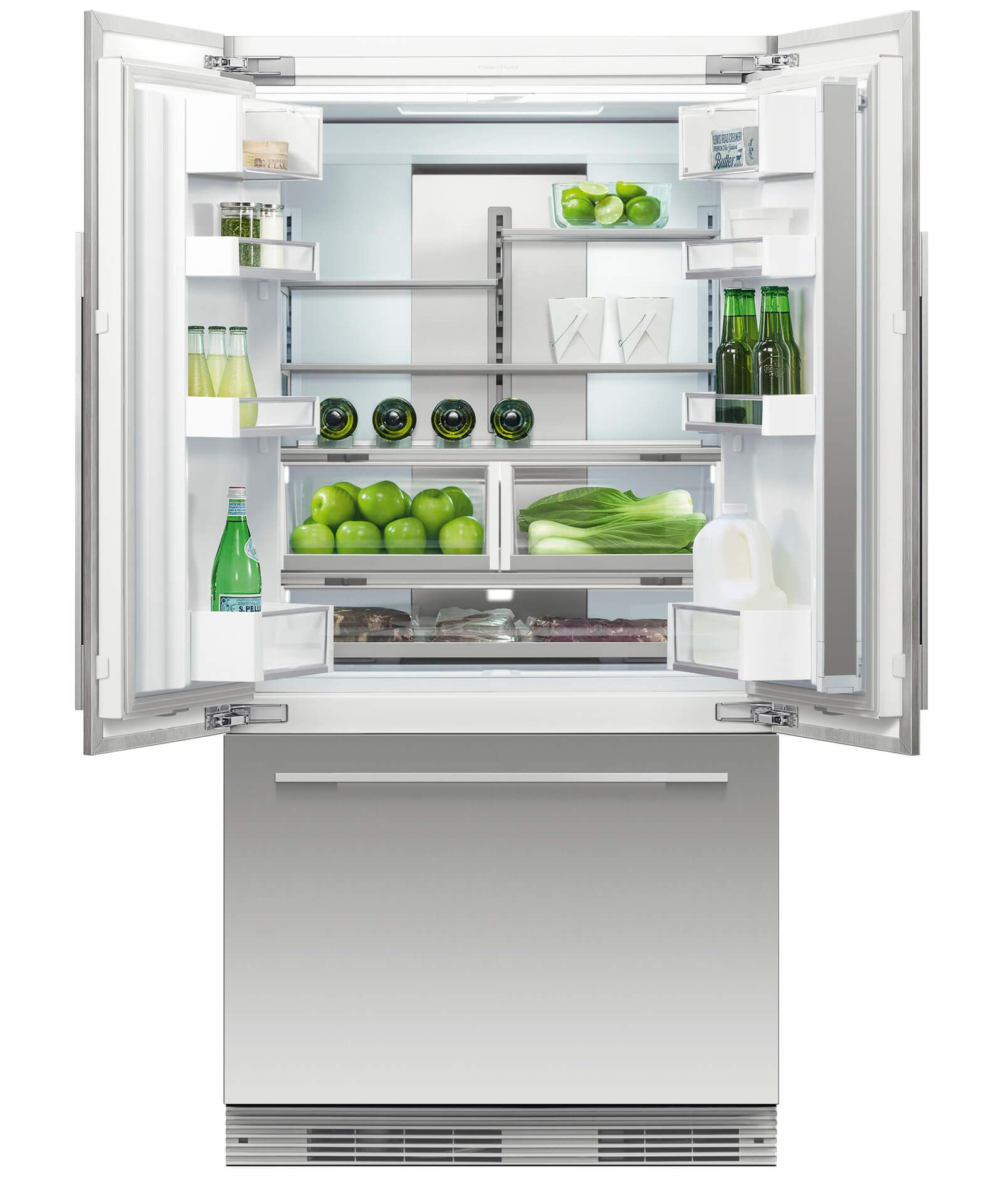 Rs36a72j1 N Activesmart Refrigerator 36 French Door Integrated With Ice 72 Tall 25075 French Doors French Doors Interior Fridge French Door