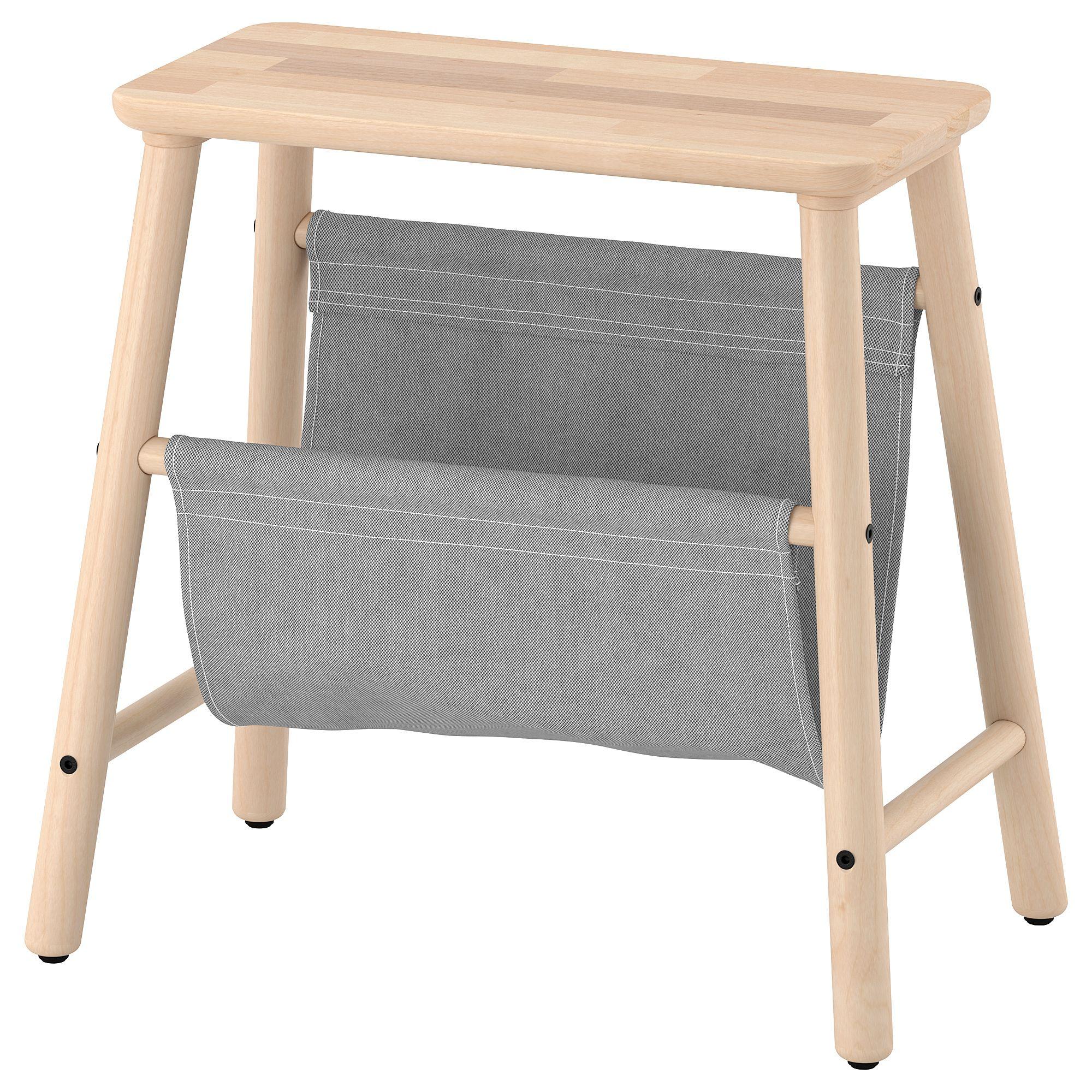 Sgabello Bambini Bagno Ikea vilto sgabello con contenitore - betulla 45 cm (con immagini
