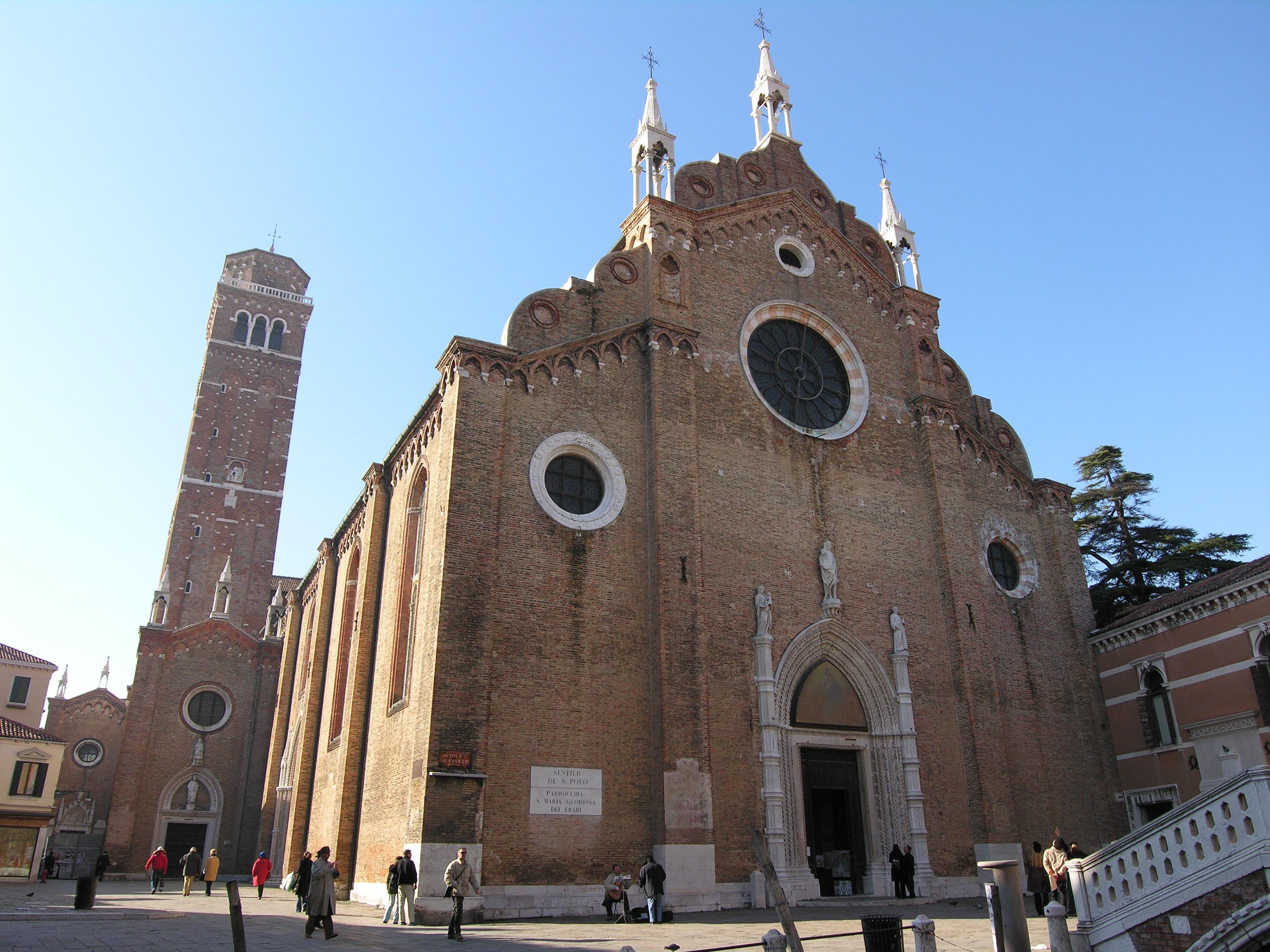 Basilica di Santa Maria Gloriosa dei Frari - Venice, Italy   Frari Exterior