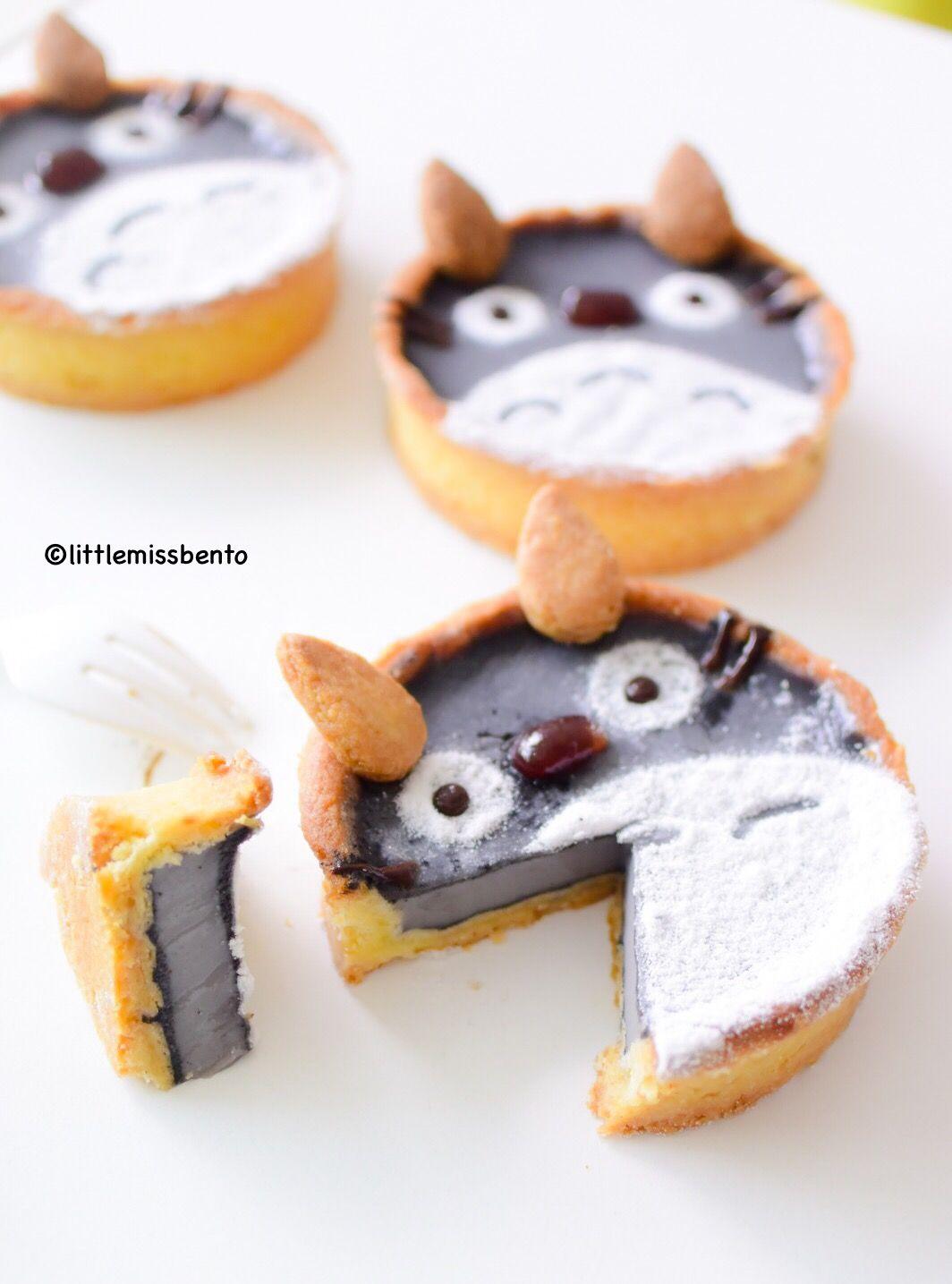 [Recipe] Totoro Black Sesame Tarts
