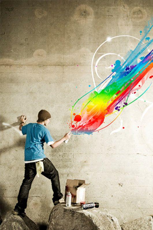 Spray Paint Iphone Wallpapers Digital Art Photography Inspirational Digital Art Iphone Wallpaper