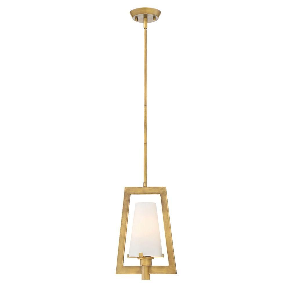 Designers Fountain Lighting Canada: Designers Fountain Hyde Park 1-Light Vintage Gold Interior