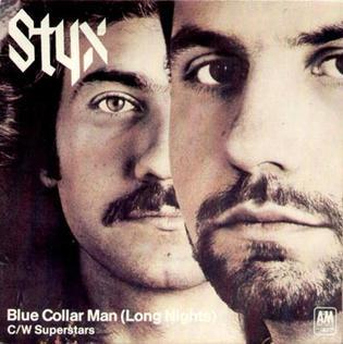 Blue Collar Man Long Nights Wikipedia Men Long Man Arena Rock