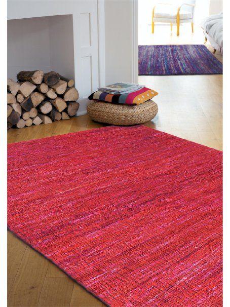 Amazonde benuta Teppiche Moderner Designer Teppich Sari Lila 160