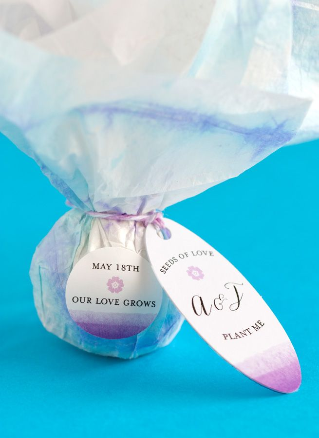 Diy Seed Bomb Favors Wedding Favor Crafts Seed Bombs And Favors