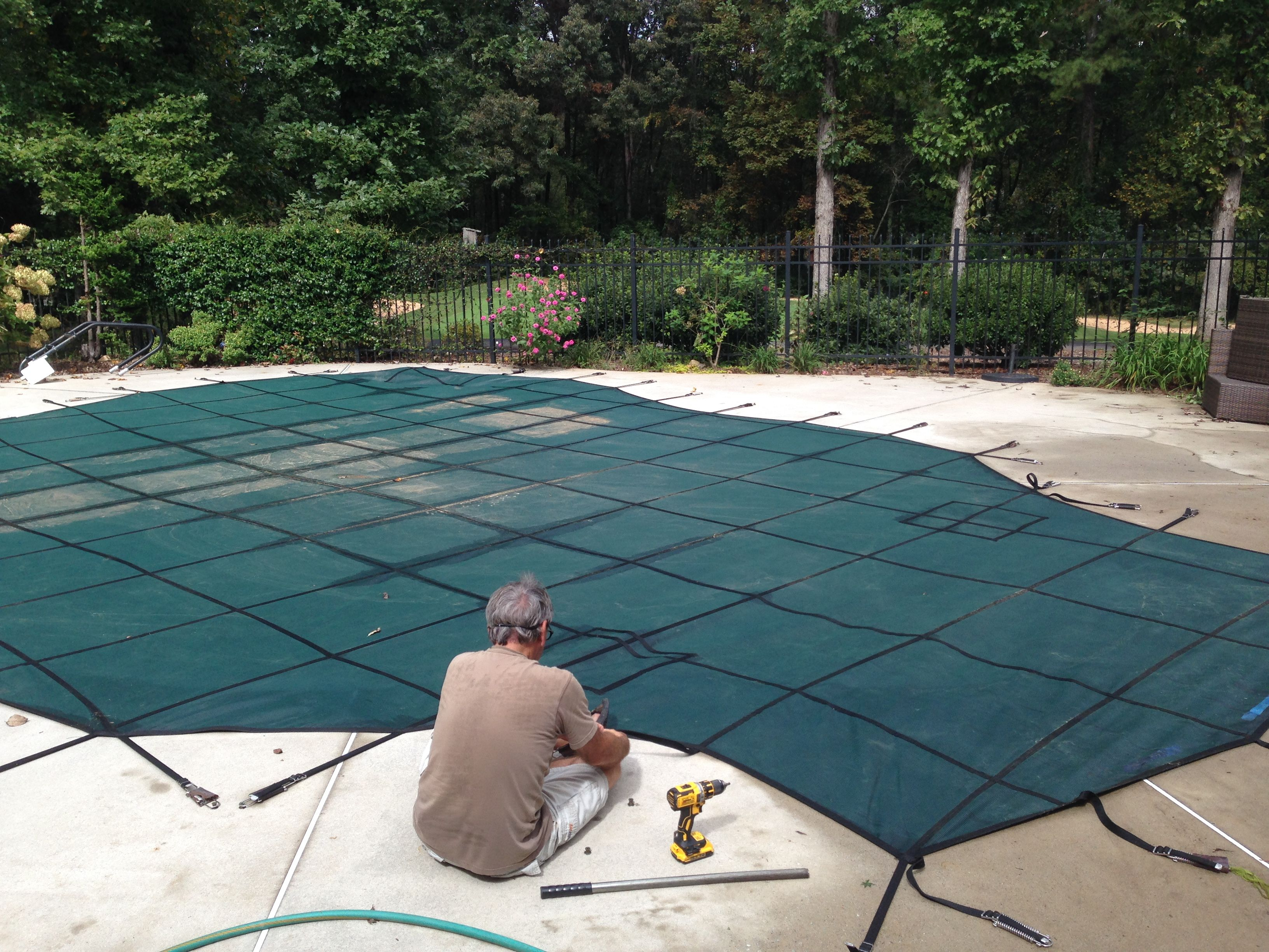 An Inground Swimming Pool Cover: Take a Break from Pool ...
