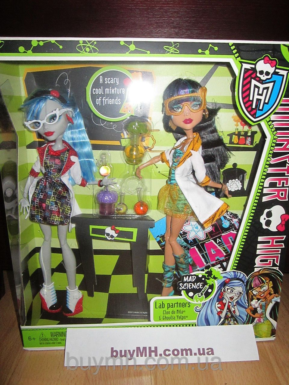 a563d9f2e995 Куклы Monster High Mad Science Dolls