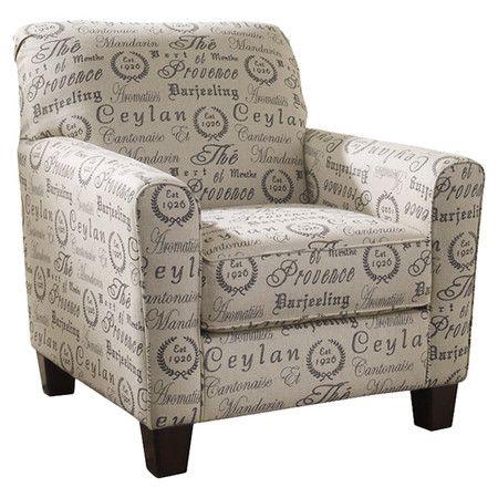 Sensational Tea Featuring French Script Upholstery And Brown Block Uwap Interior Chair Design Uwaporg