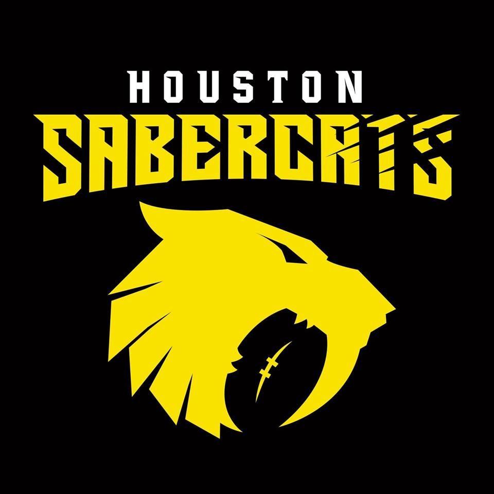 Houston Sabercats Mlr Rugby Logo Houston Art Logo