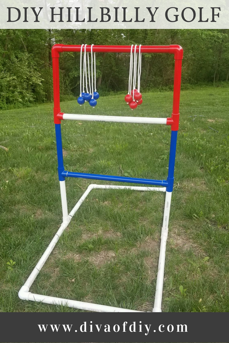Looking for a fun outdoor yard game to play? Today I'm sharing a fun tutorial for DIY Hillbilly Golf. Make this fabulous outdoor game for under $30 in less than 2 hours.