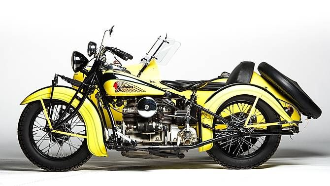 1939 Indian Four Cylinder Offered For Auction Indian Motorcycle Vintage Indian Motorcycles Indian Motorbike
