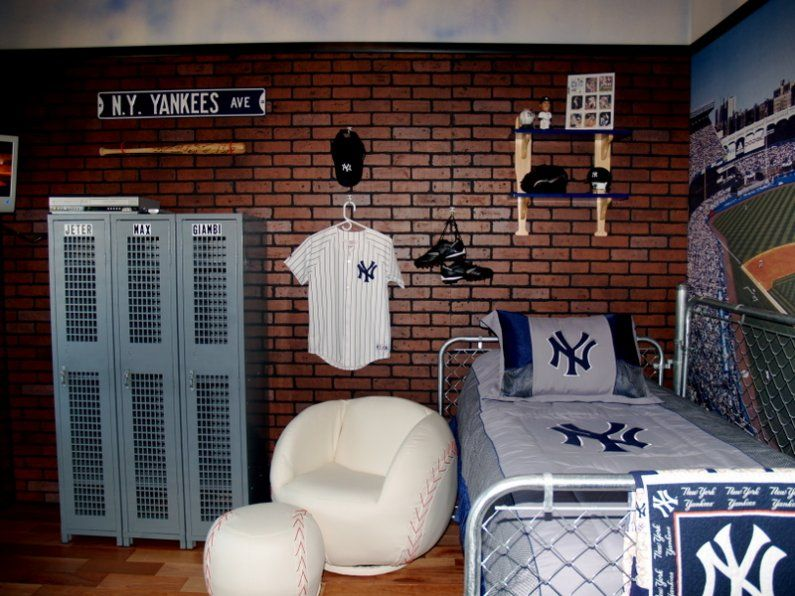 Boys Yankees Room Baseball Maybe A Different Team