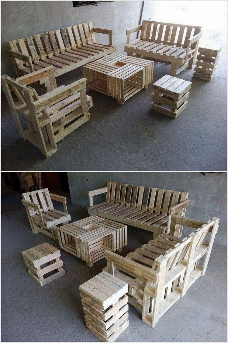 Pallet Furniture Outdoor, Skid