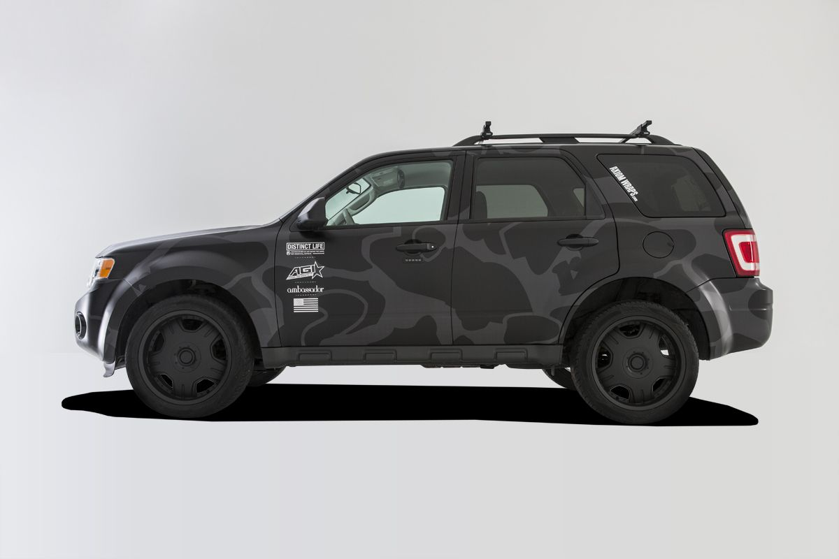 Ford Escape Vehicle Wrap Google Search With Images Car Wrap