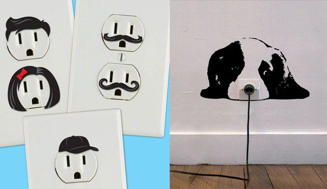 Ideas para decorar enchufes e interruptores http - Enchufes e interruptores ...