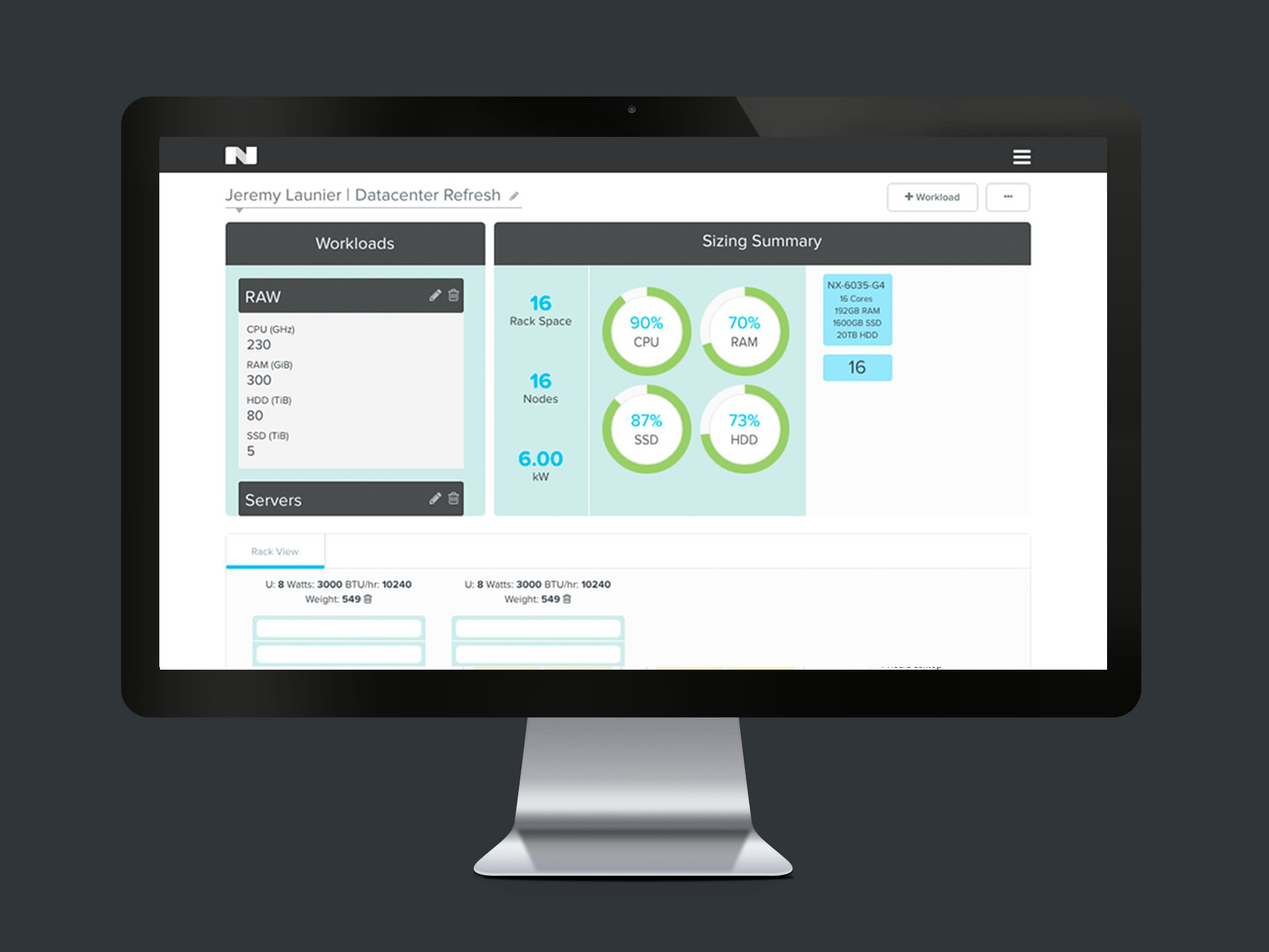 Size Your Data Center Virtualize Your Environment With