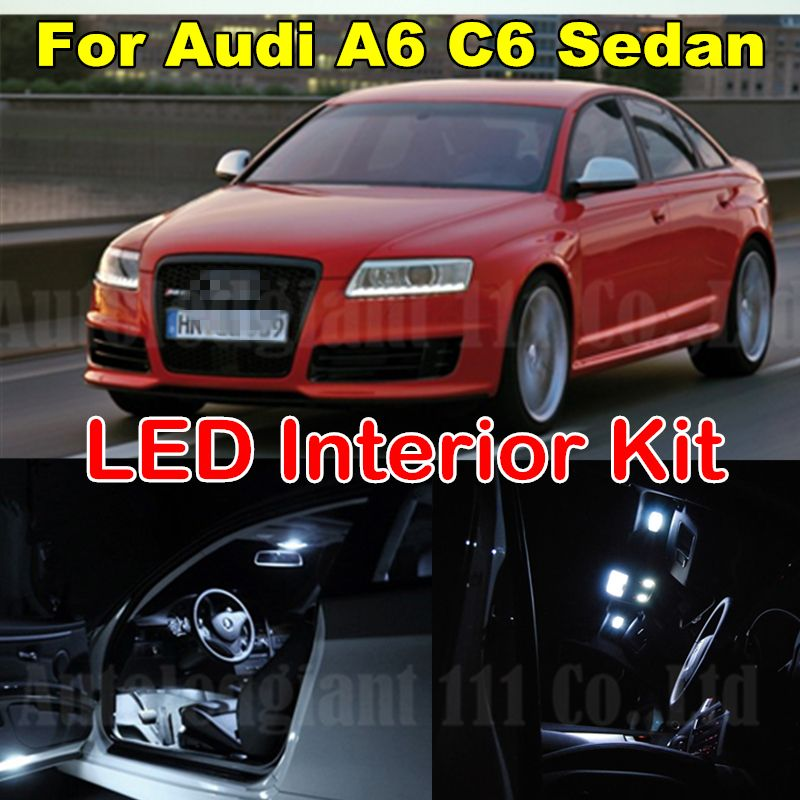 Interior Light LED replacement kit for Audi A4 B5 SEDAN 1998-2001 WHITE 6000K