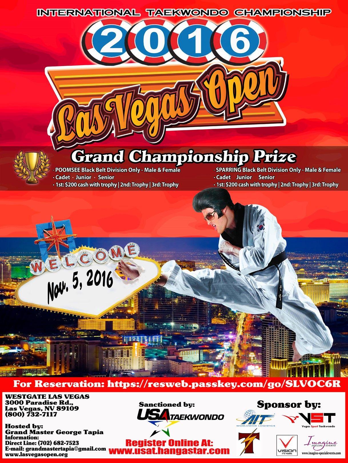 Las Vegas Open Taekwondo