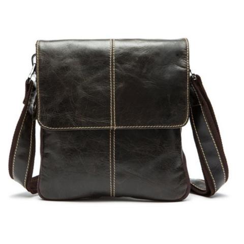 La Mia Cara Jewelry - Franco - Genuine Leather Shoulder Crossbody Bag Men