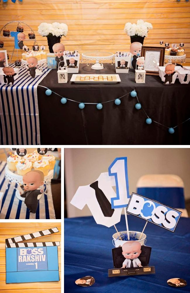Boss Baby Party Inspiration - Birthday Party Ideas for Kids and Adults