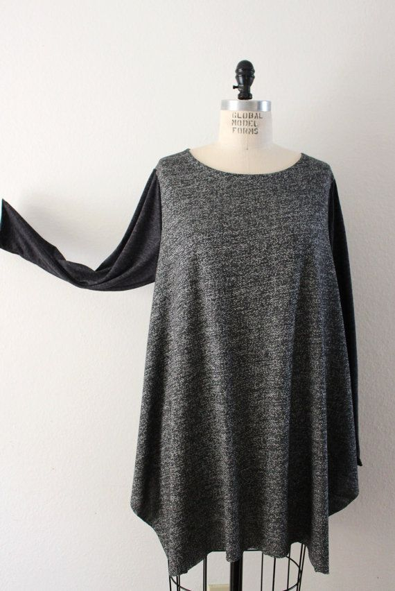 Lagenlook Plus Size Tunic TopSizes Available from L to by LDHplus, $39.00