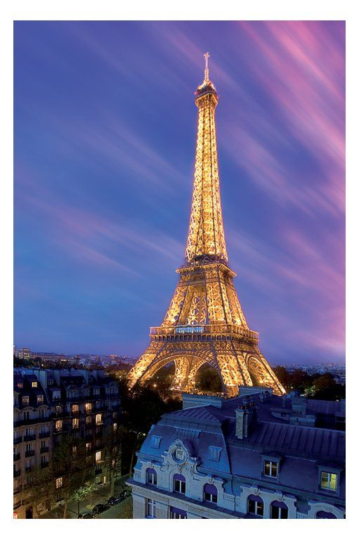 Eiffel Tower - dusk Paris France <3