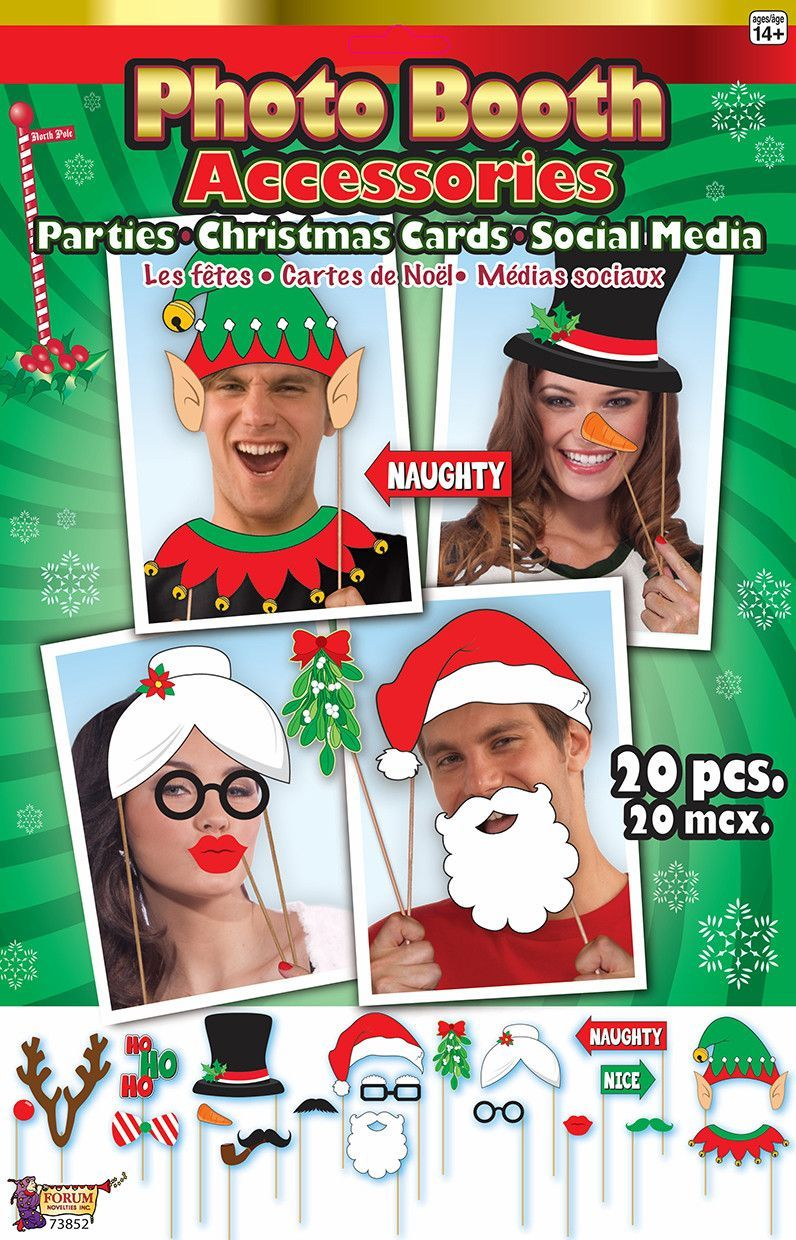 Photo Booth Christmas Card Accessories   Christmas ideas   Pinterest ...