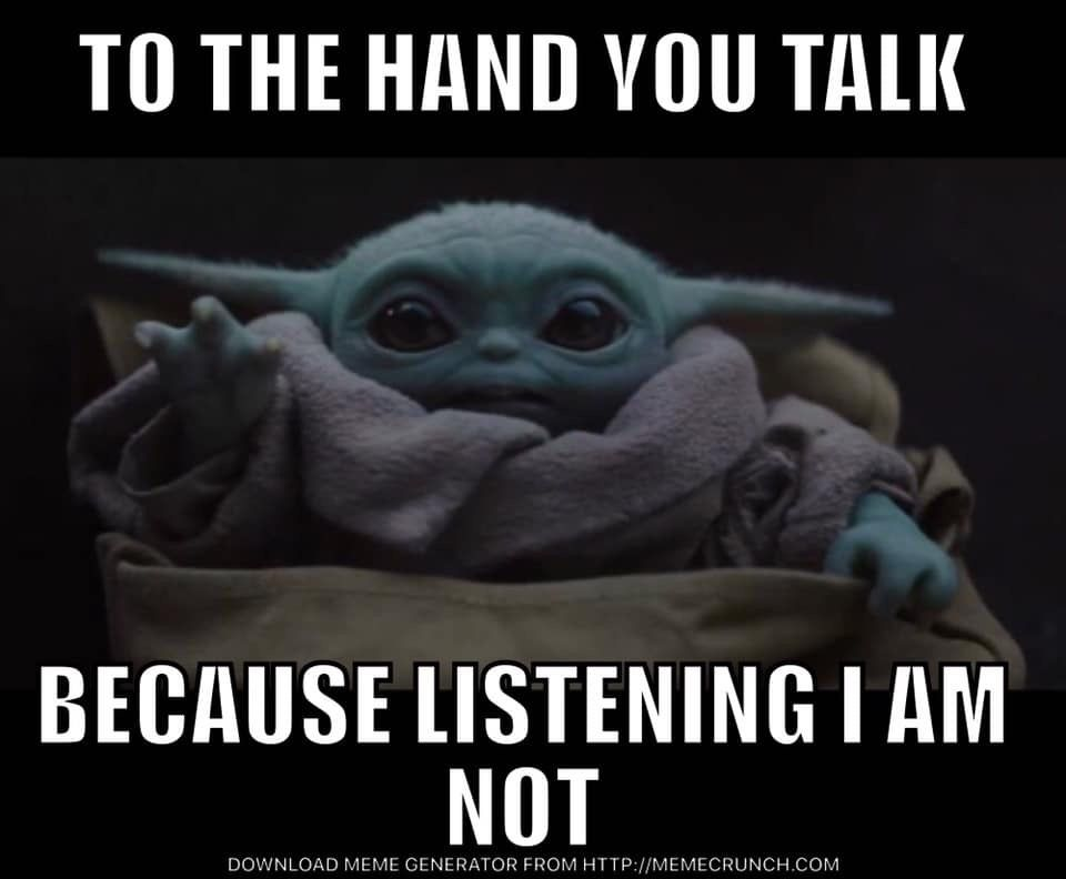 Pin By Angie Sargent Spaeth On Geek Pics For The Geek In Us All Yoda Funny Yoda Meme Yoda Wallpaper