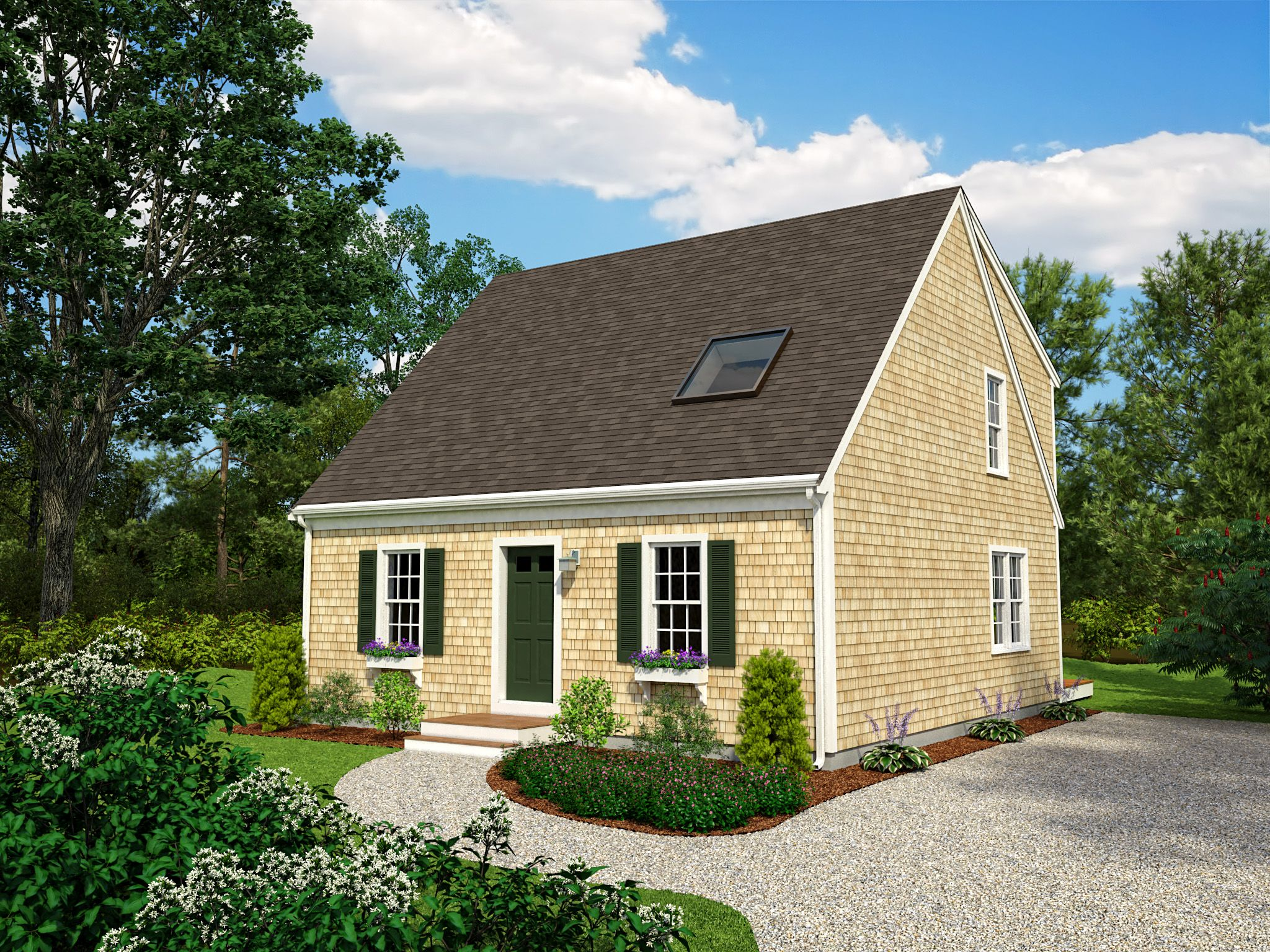 Reef cape cod builders dory cape home plan for Cape cod builder