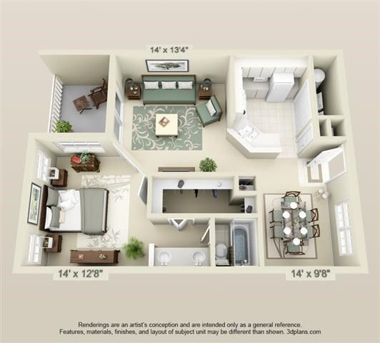 Floor Plans College Park Apartments Sims House Design House Layouts Interior Design Plan