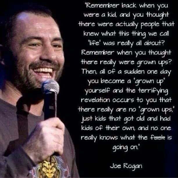 Growing Up Facts Of Life: Joe Rogan, Quotes, Wise