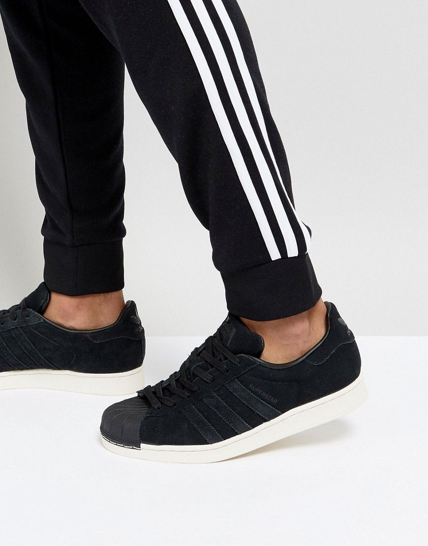 f9dbd5662 ADIDAS ORIGINALS SUPERSTAR SNEAKERS IN BLACK BZ0201 - BLACK.   adidasoriginals  shoes