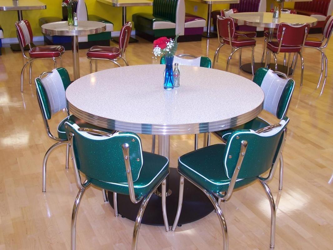 Retro kitchen table sets