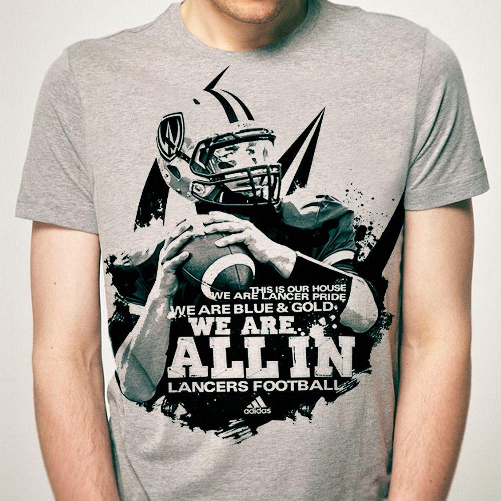 T-shirt design for University of Windsor Lancers