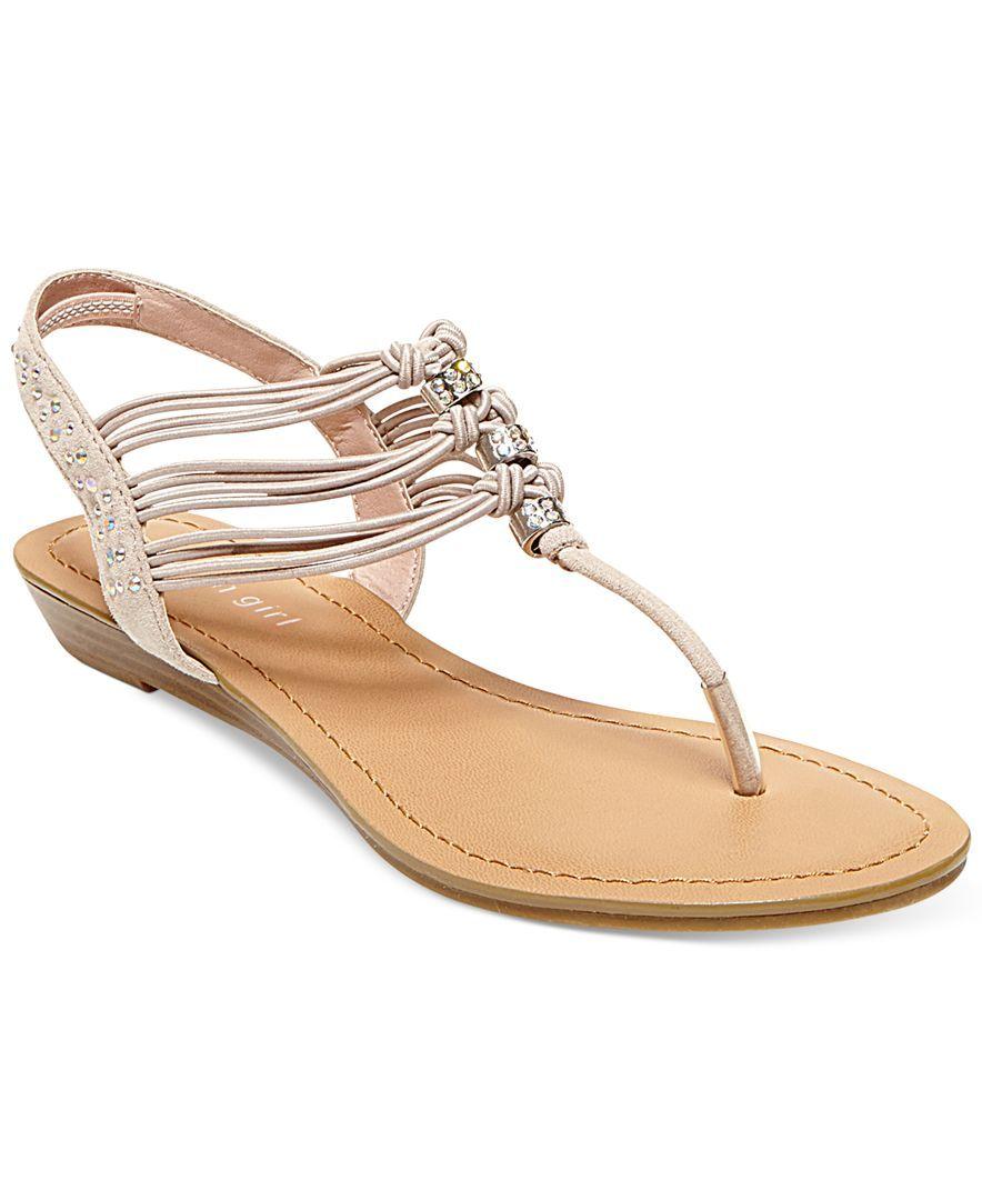 56fd60f5e Madden Girl Thrill T-Strap Flat Thong Sandals